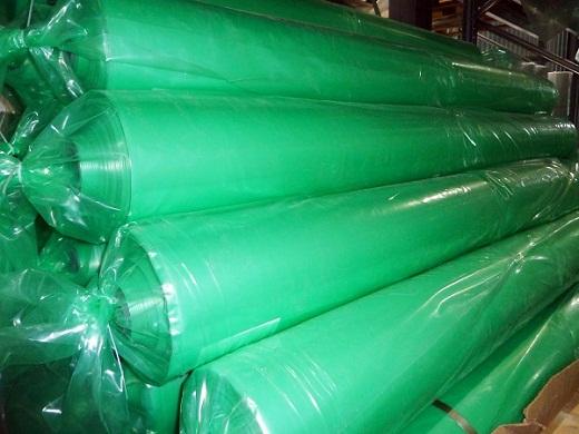 На снимке зеленая светостабилизированная пленка